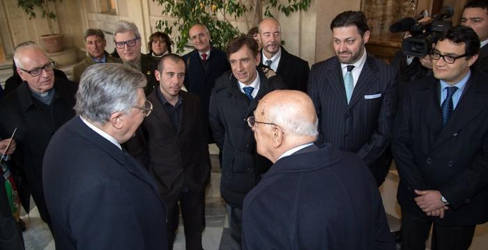 A parlare di green col presidente della Repubblica Napolitano