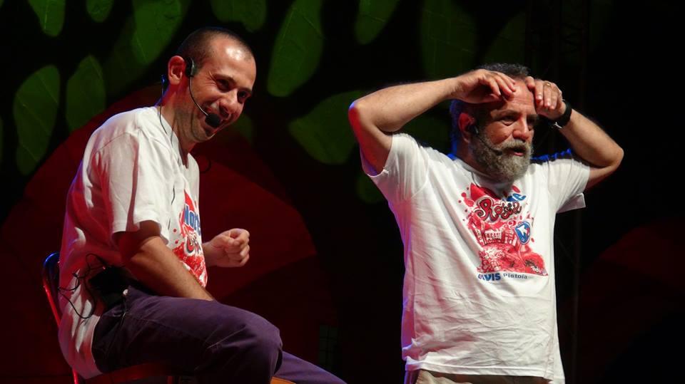 show con Giobbe Covatta