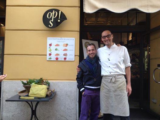 con il vegan chef Simone Salvini