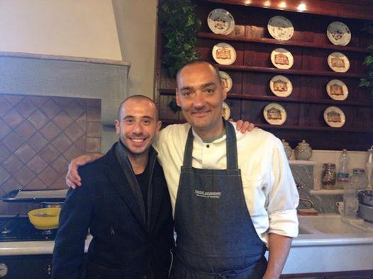 col vegan chef Simone Salvini