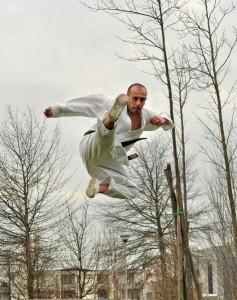 allenamenti di karate..