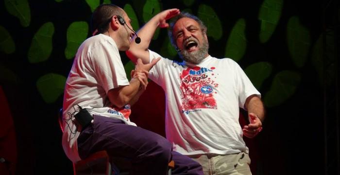 Momenti del mio show con Giobbe Covatta
