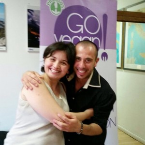 con Letizia Palmisano, cara amica ed una delle più importanti social media manager italiane