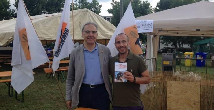 col presidente nazionale della Lav Gianluca Felicetti