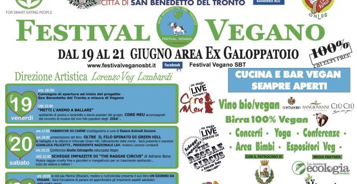 direttore artistico del primo festival Vegan di San Benedetto del Tronto