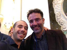 Al forum nazionale rifiuti con l'amico Alessio Ciacci tra i leader di Rifiuti zero italia