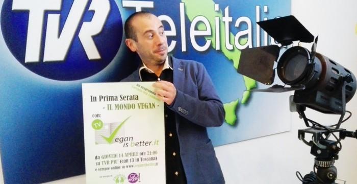 presentazione della produzione televiva Vegan is Better