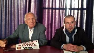Con lo storico leader radicale Marco Pannella